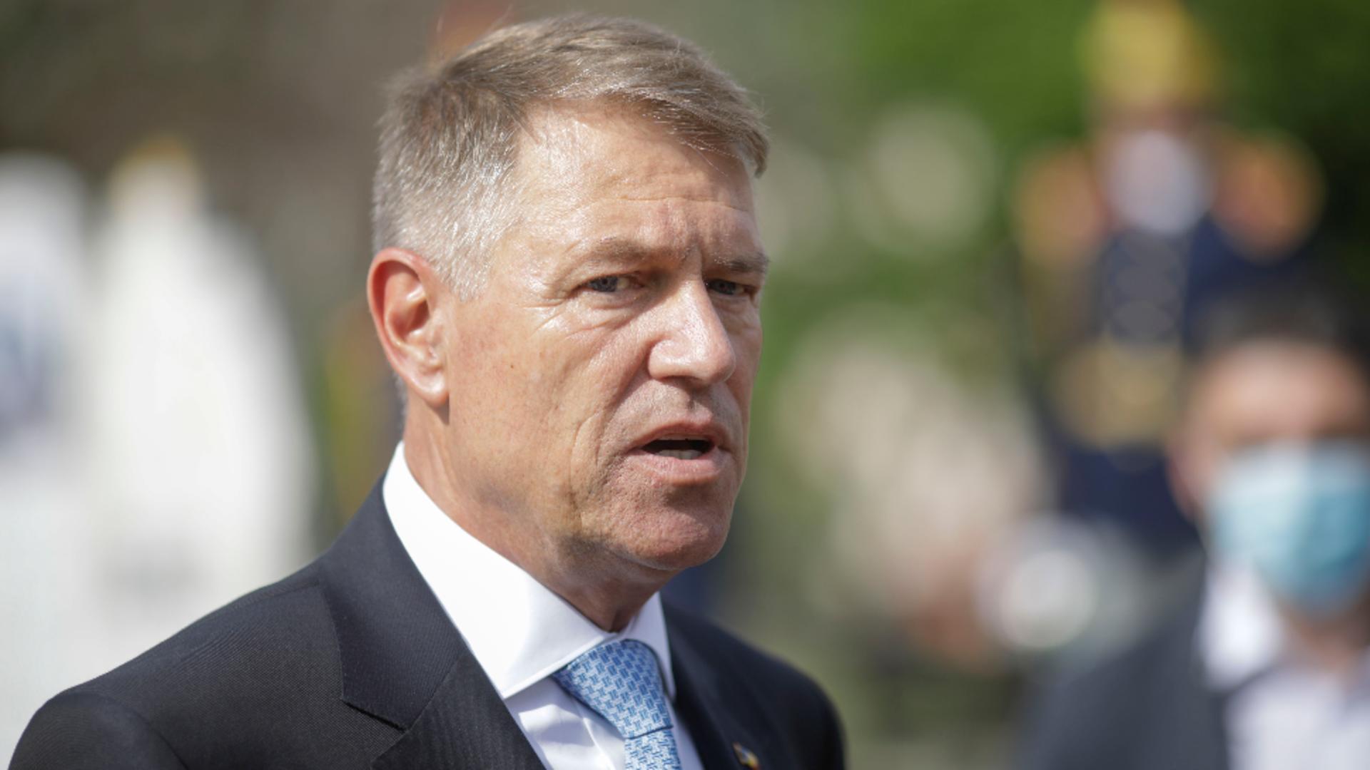 Klaus Iohannis, președintele României Foto: Inquam Photos/Octav Ganea