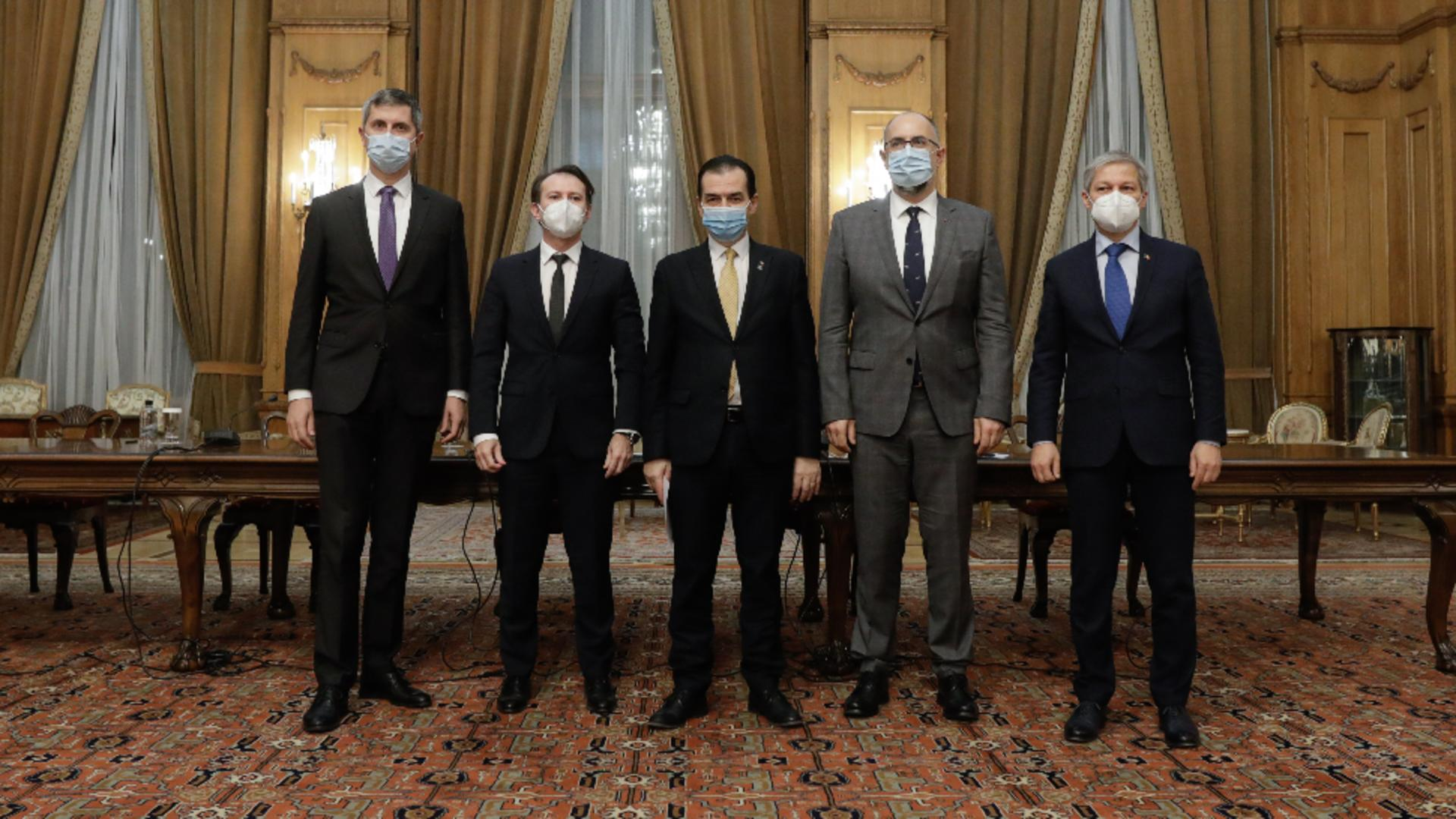 """Un ministru liberal anunță """"decesul"""" coaliției. Foto/Inquam"""