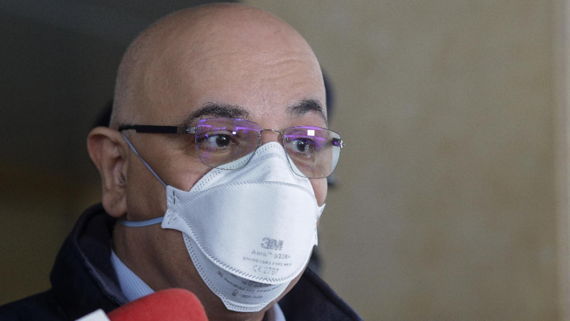 """Spitalul """"Foișor"""" din Capitală rămâne suport-COVID! Anunțul lui Raed Arafat"""