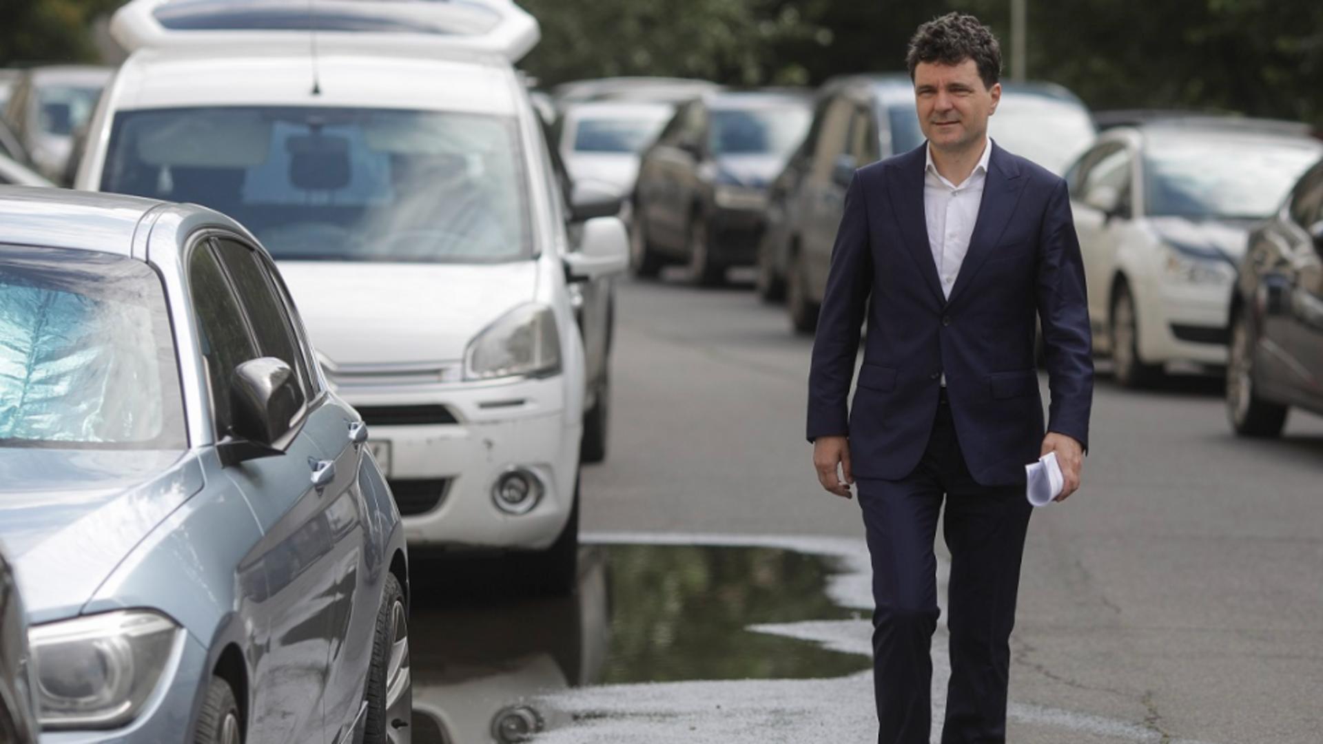 Nicusor Dan, primarul general al Capitalei (Inquam Photos/Octav Ganea)