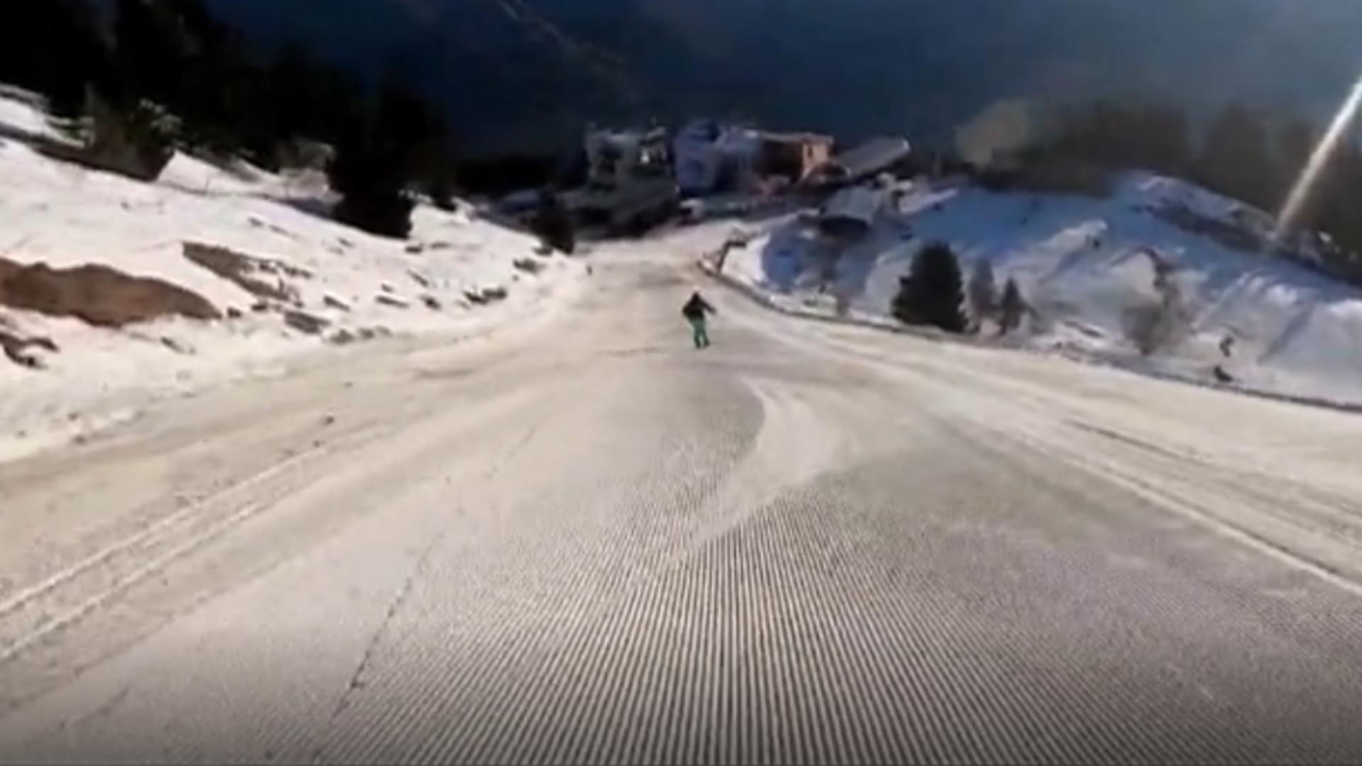 Pârtia de schi Carp, din Sinaia