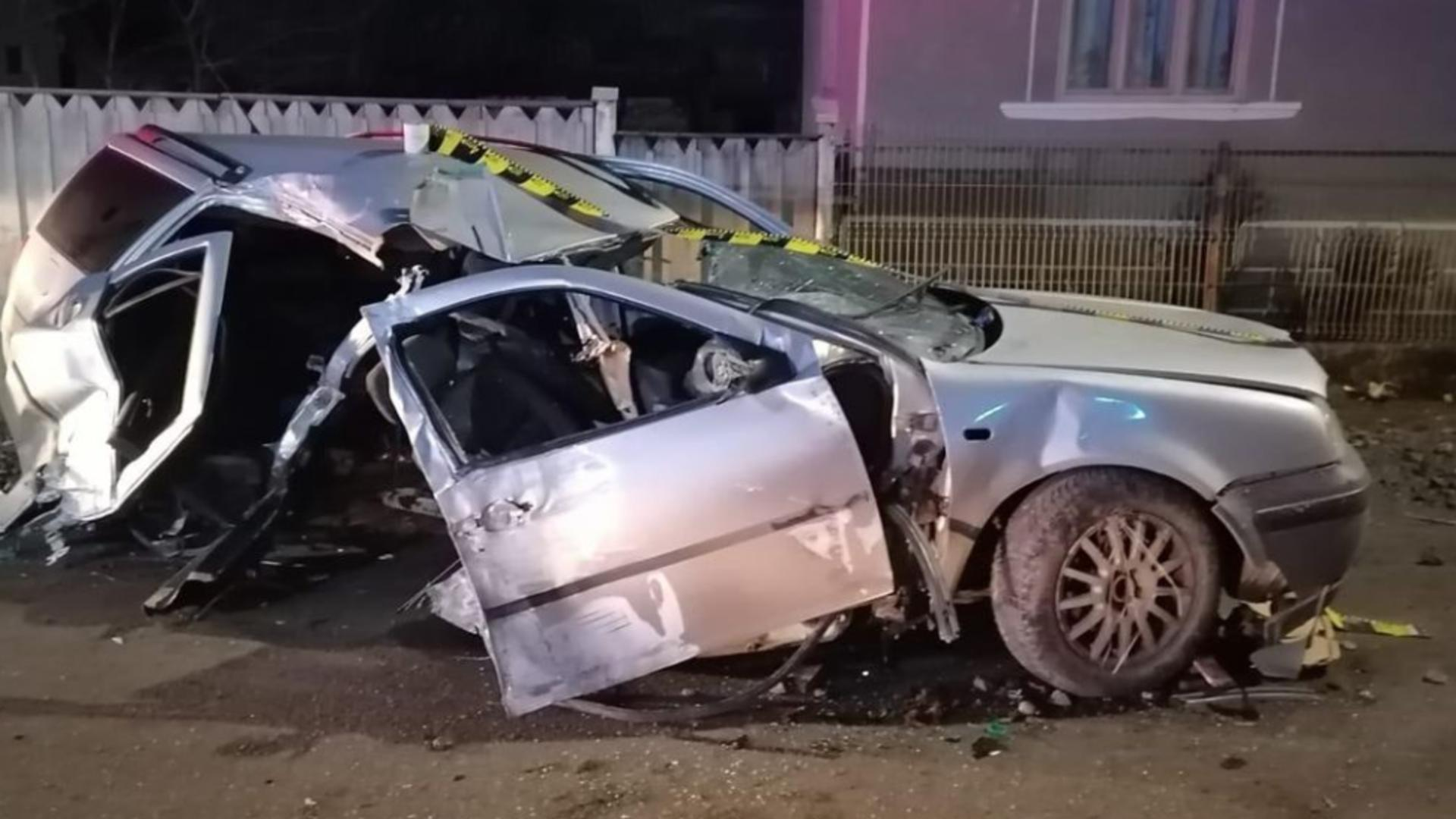 Accident grav Rodna, județul Bistrița-Năsăud Foto: IPJ