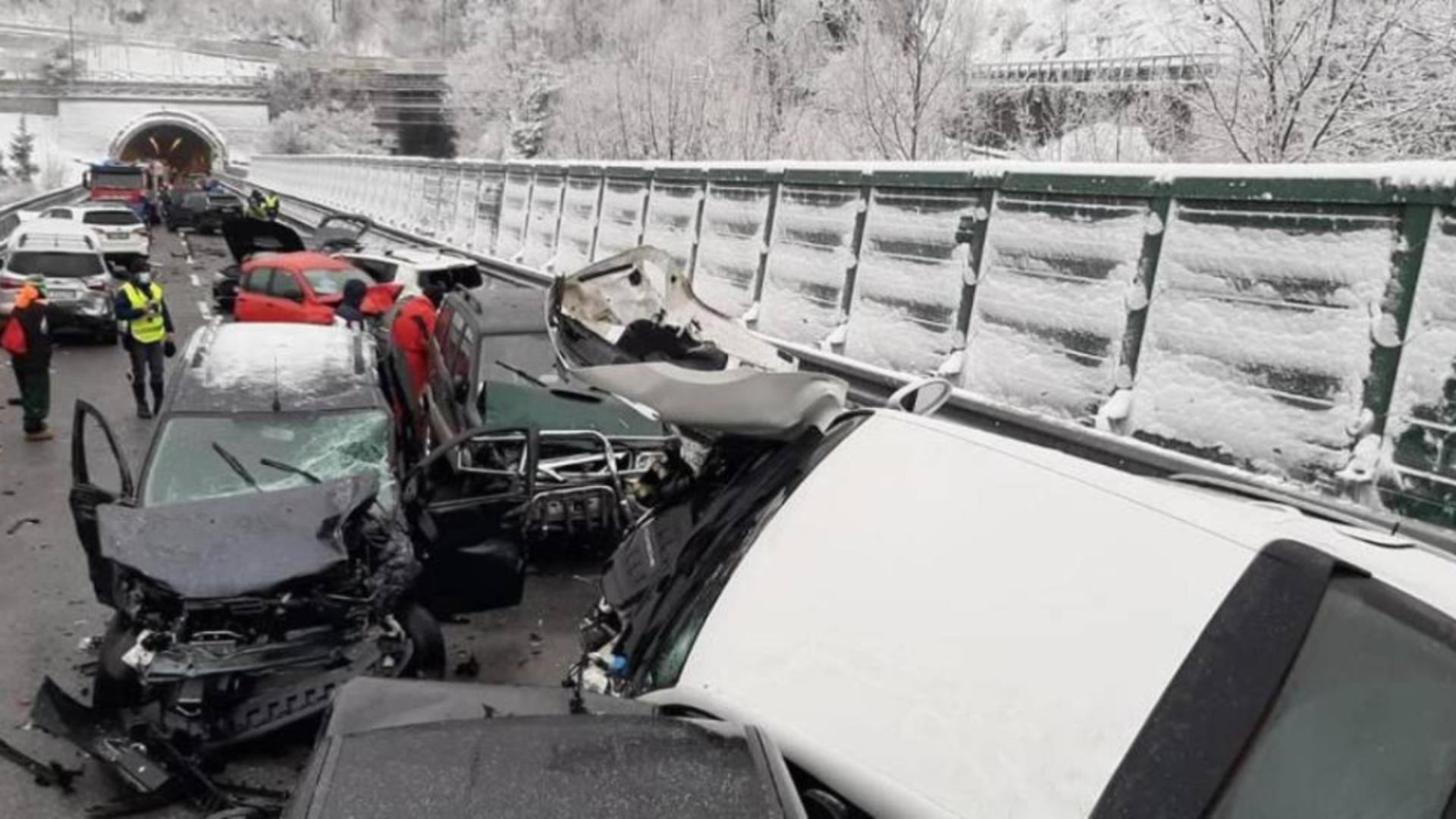 Accident in Italia (sursă: quotidiano.net)