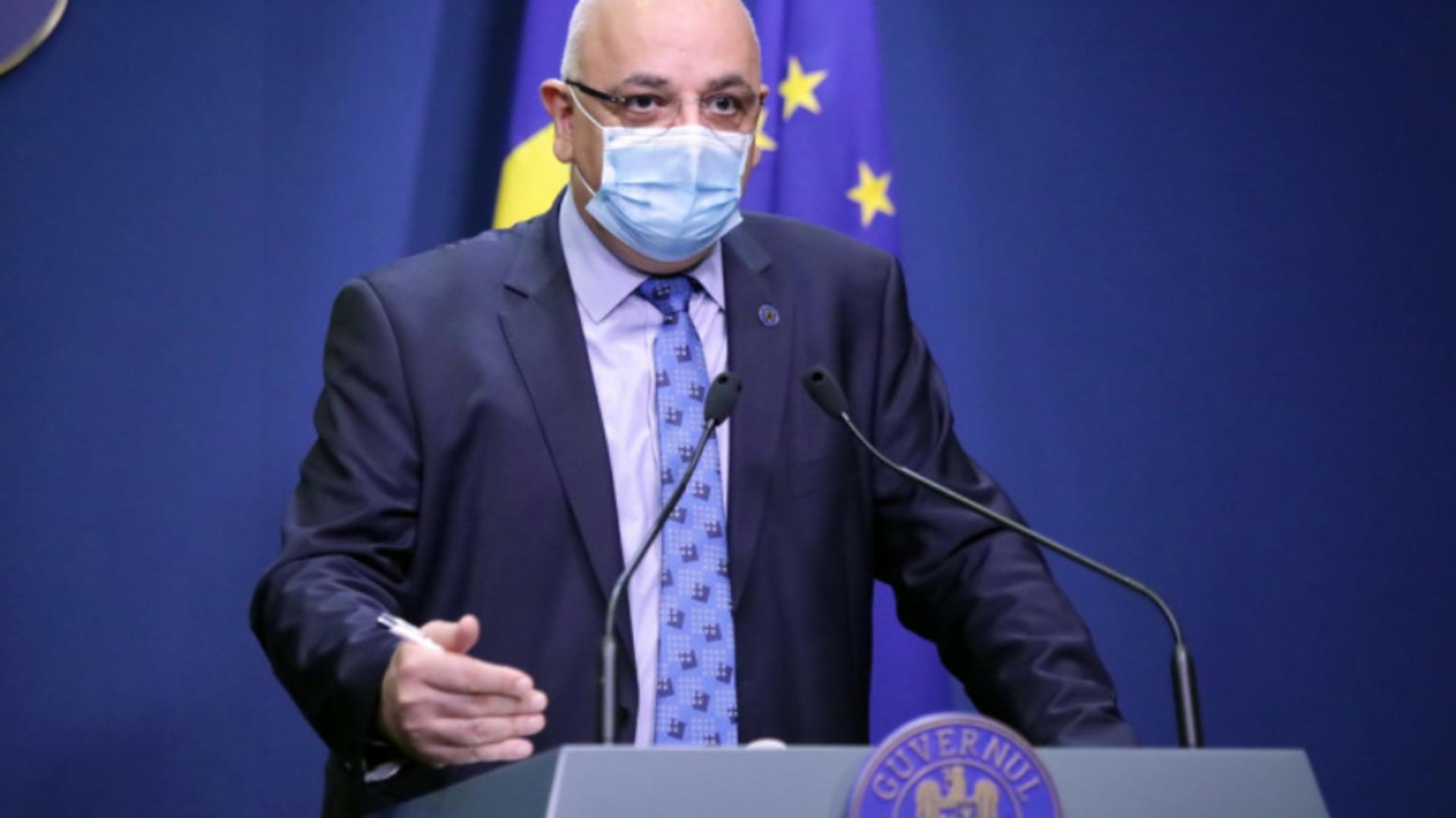 Raed Arafat, șeful Departamentului pentru Situații de Urgență, secretar de stat MAI