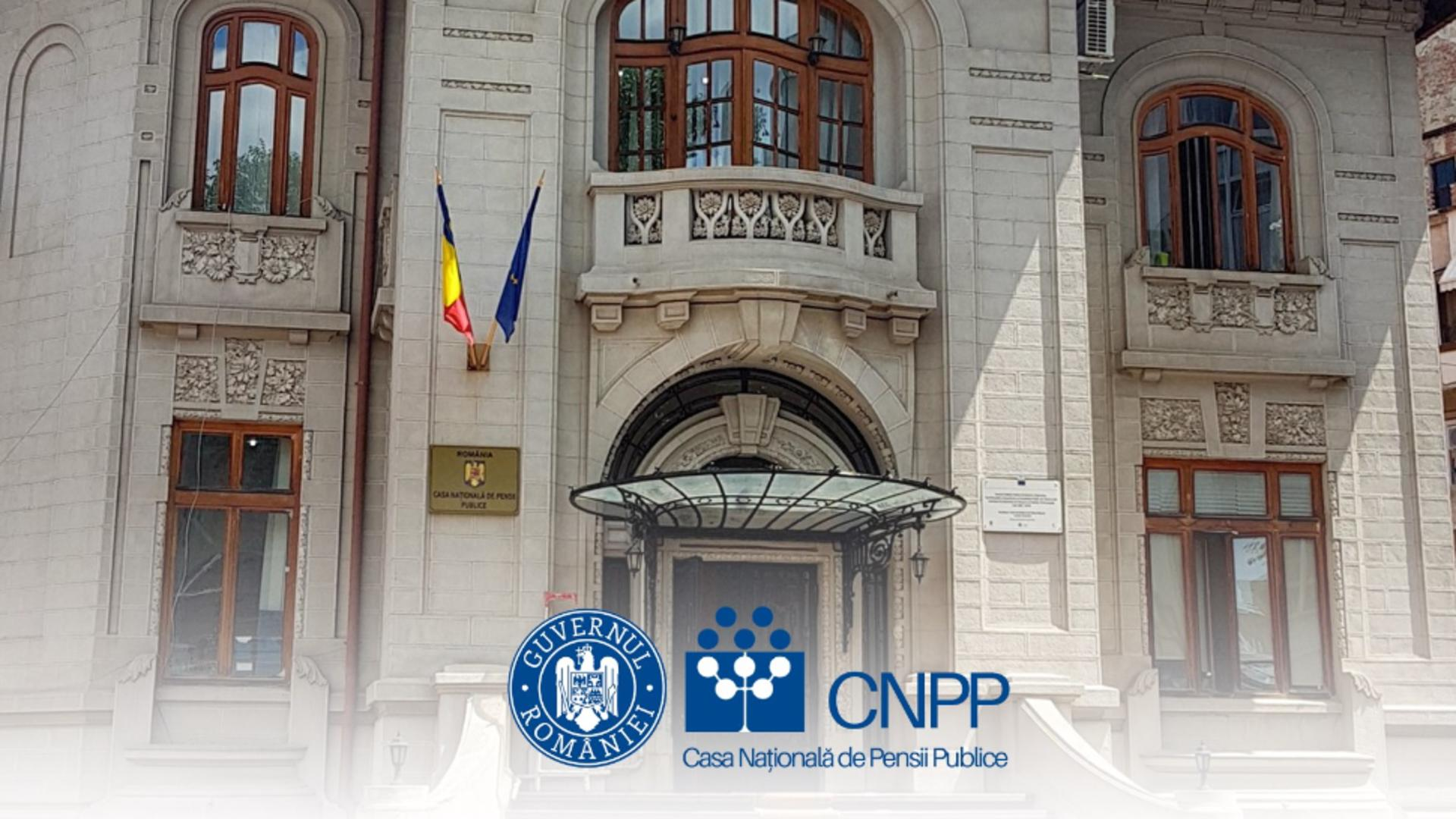 Casa Națională de Pensii Publice (foto: FB)