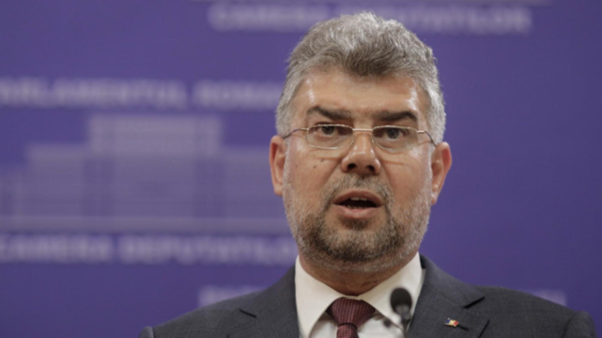 Marcel Ciolacu - președintele PSD