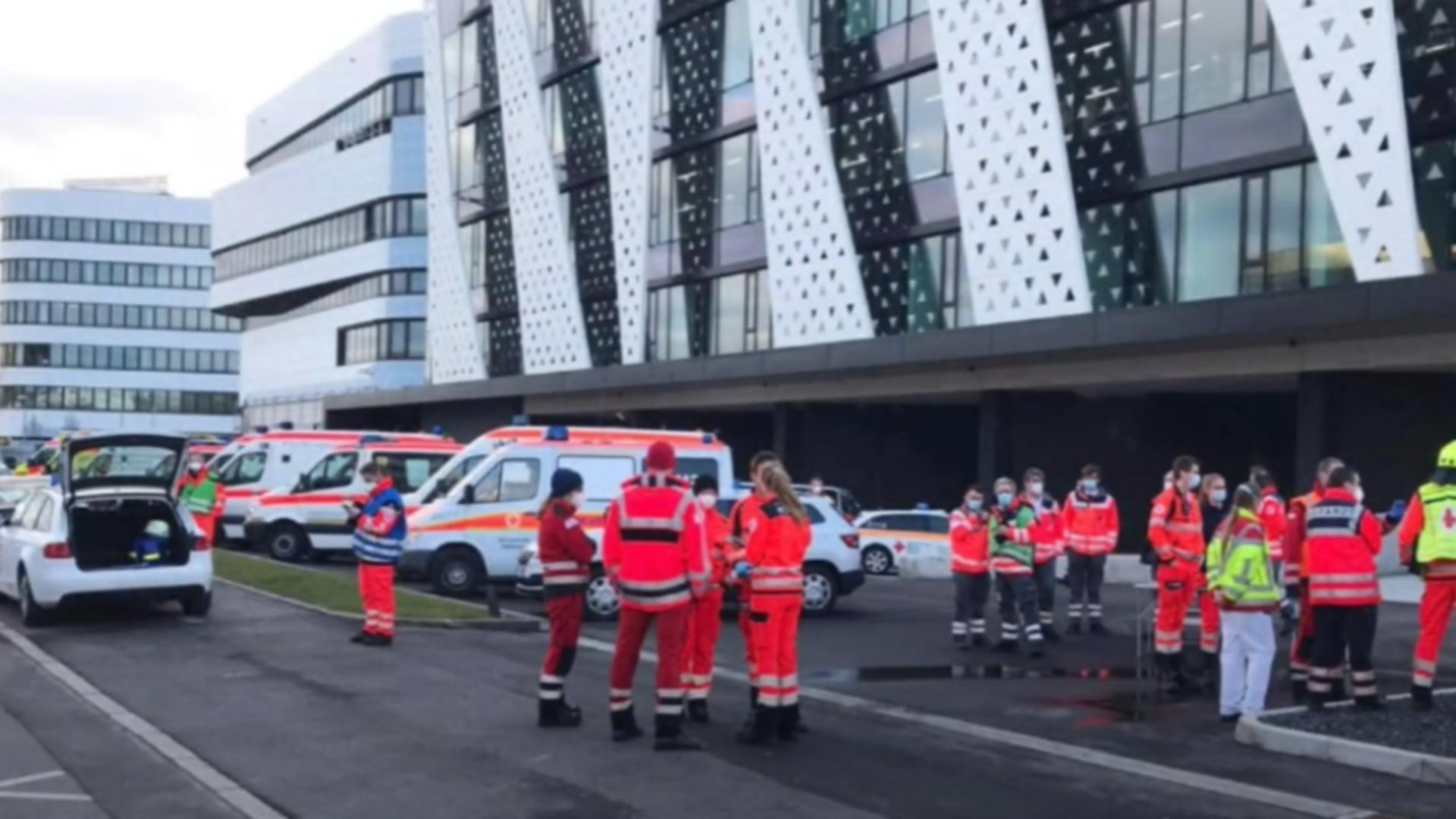 Explozie în Germania. Foto: captură YouTube