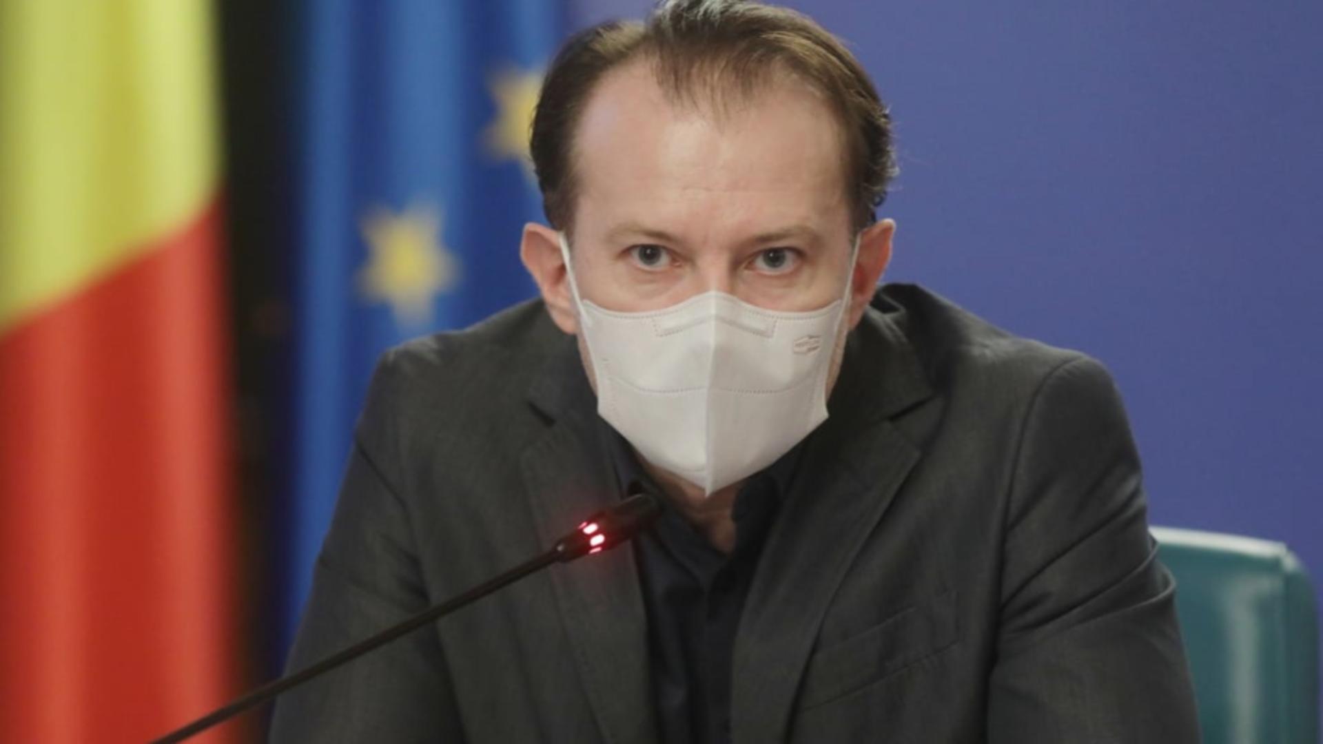 Premierul Florin Cîțu Foto: Facebook.com/Guvernul României