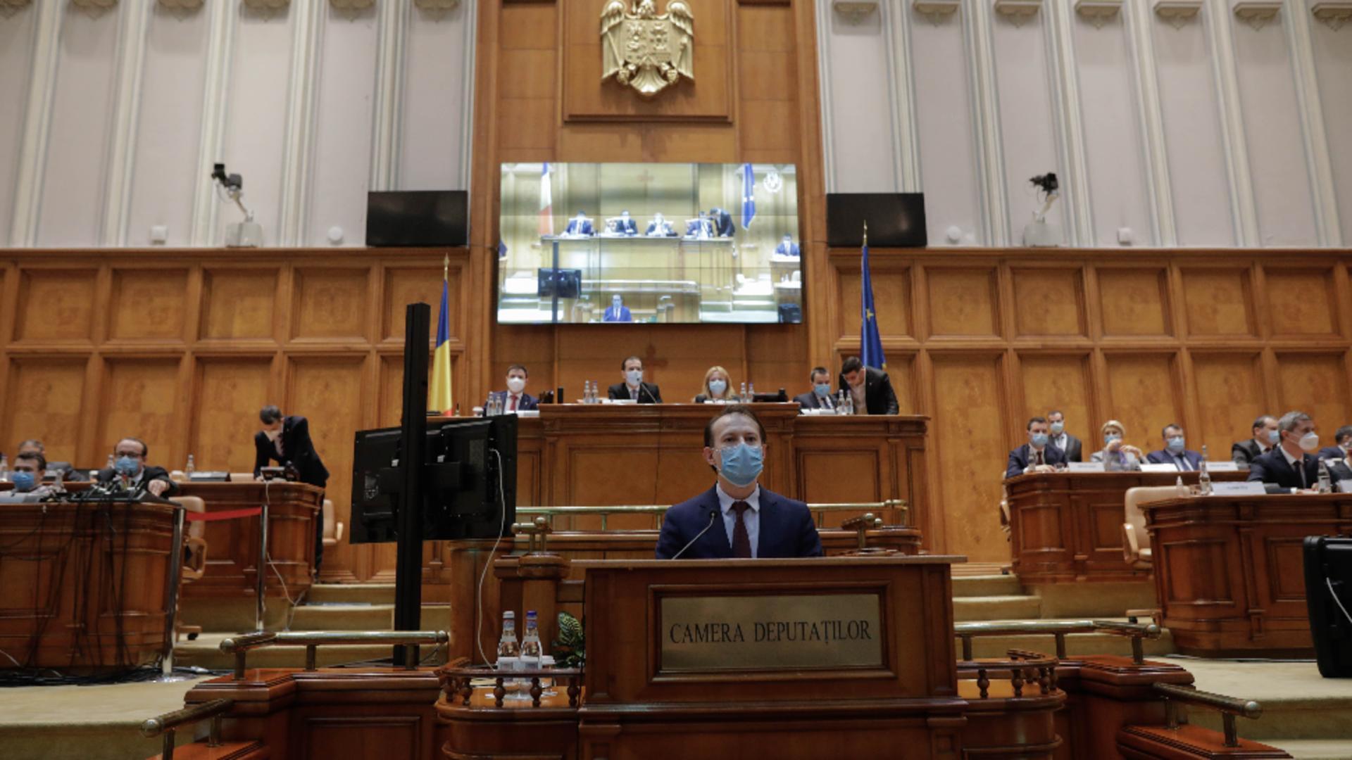 Premierul României - Florin Cîțu / FOTO: Inquam Photos
