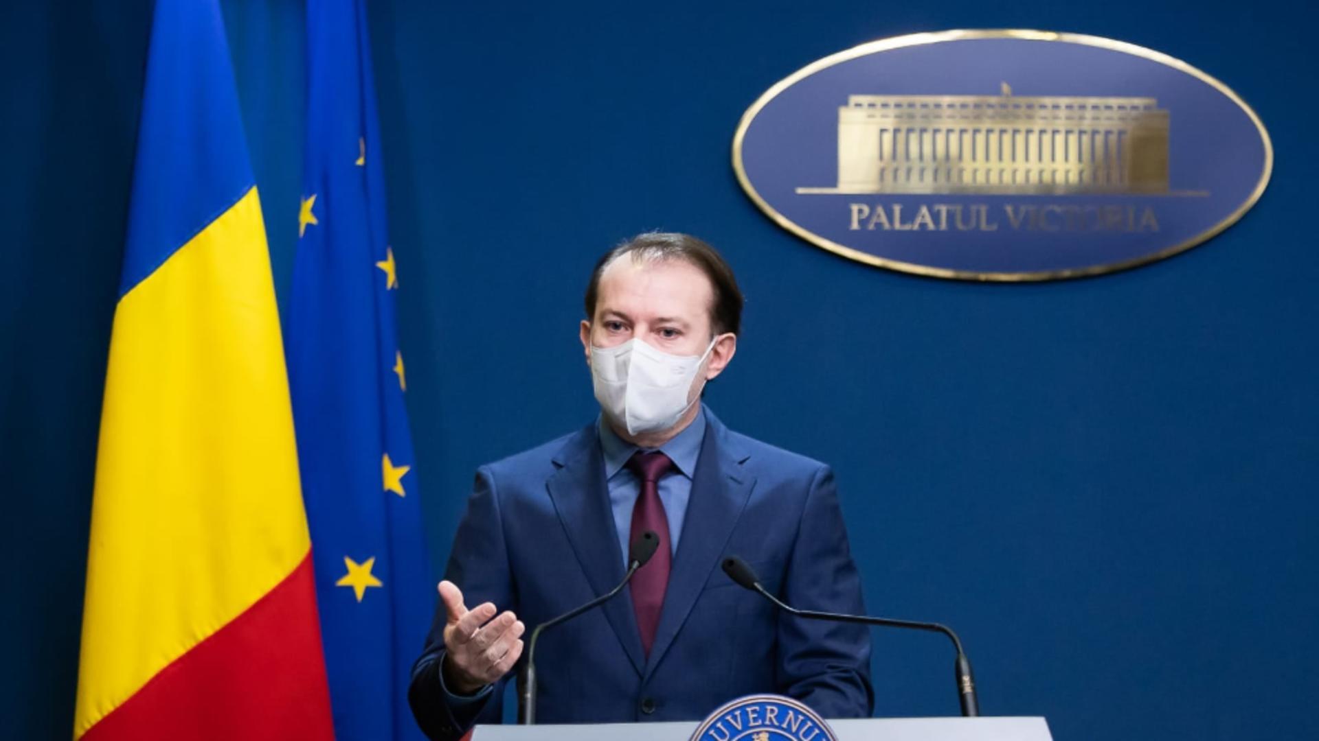 Guvernul a APROBAT bugetul pe 2021. Florin Cîțu: Sper să treacă de Parlament cât mai repede