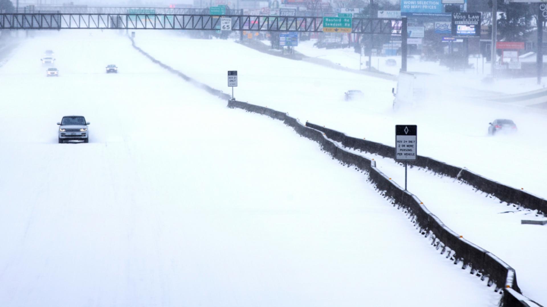 Iarna in Texas