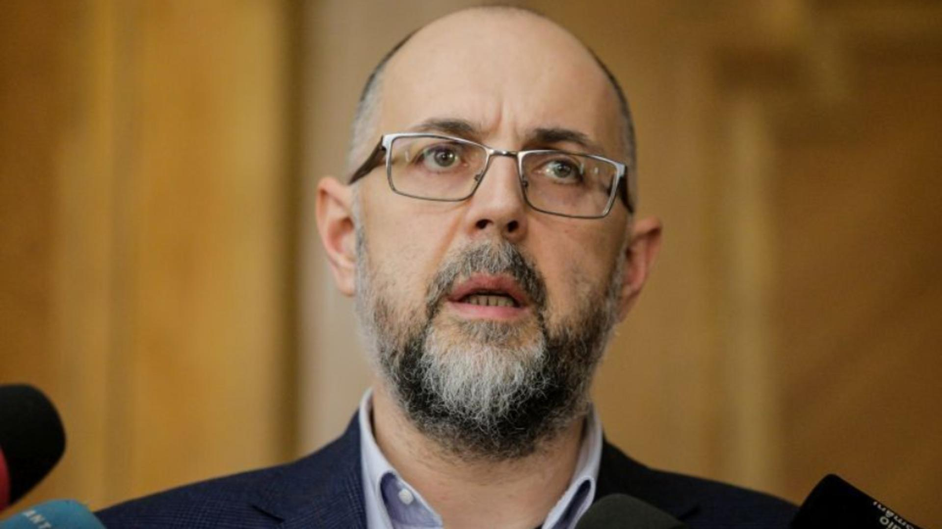Kelemen Hunor, președintele UDMR, vicepremier Guvernul Cîțu Foto: INQUAM