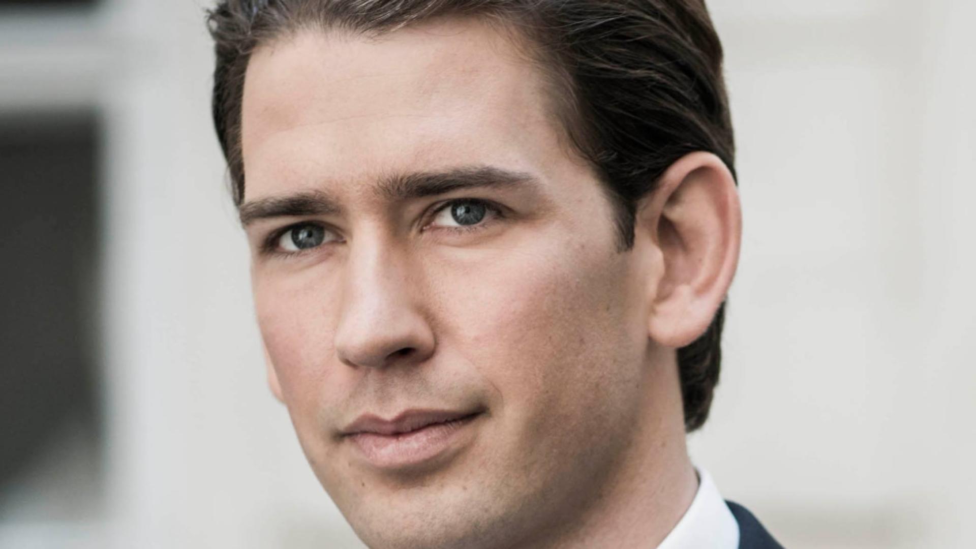 Sebastian Kurz, cancelarul Austriei Foto: Facebook.com