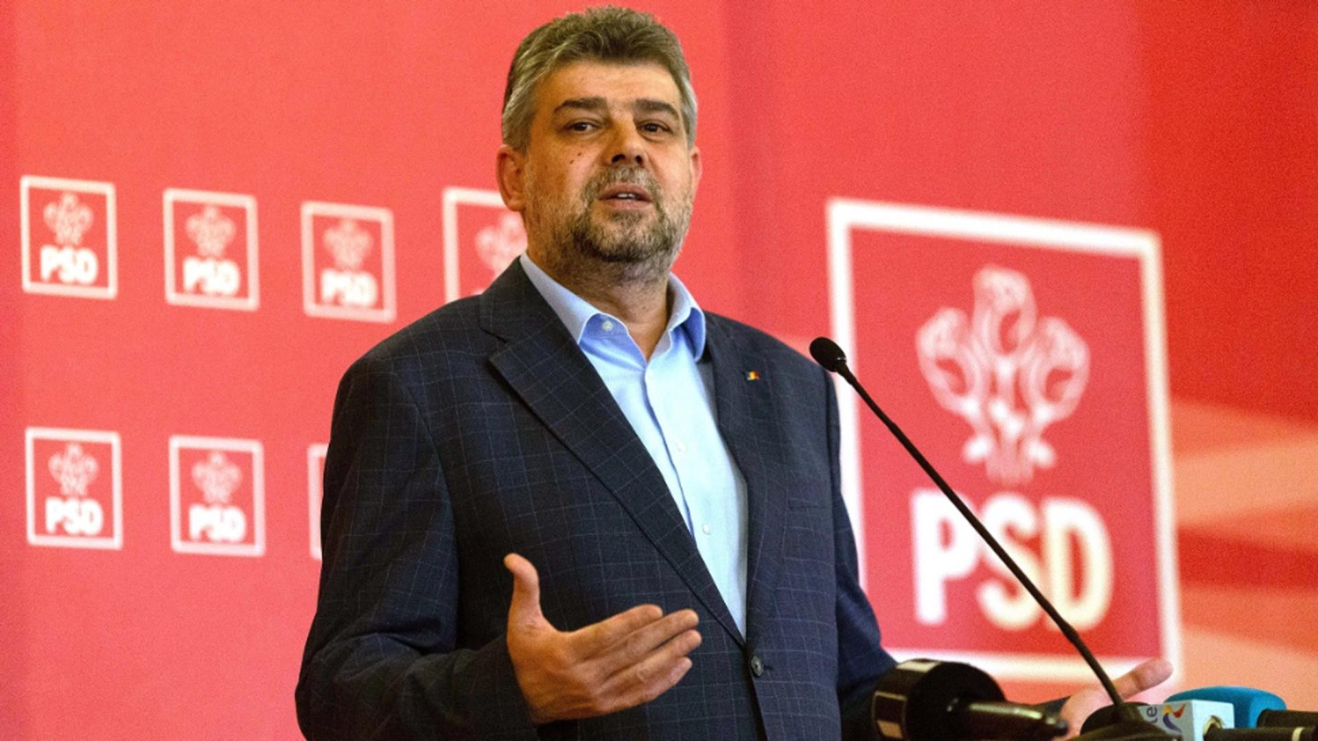 Marcel Ciolacu, președintele PSD Foto: Inquam Photos/Ilona Andrei