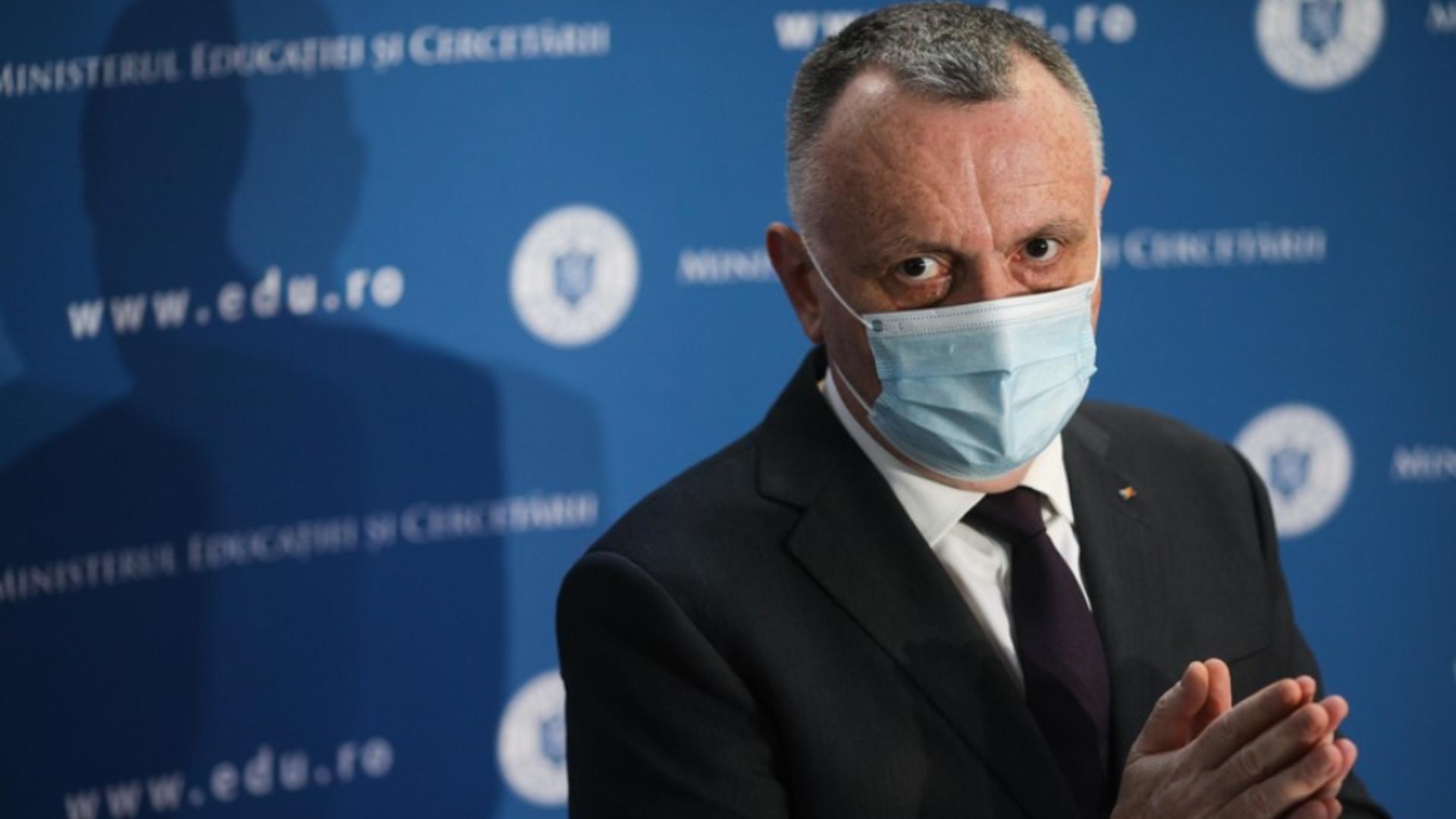 Sorin Cîmpeanu, ministrul Educației Foto: Inquam Photos/Octav Ganea