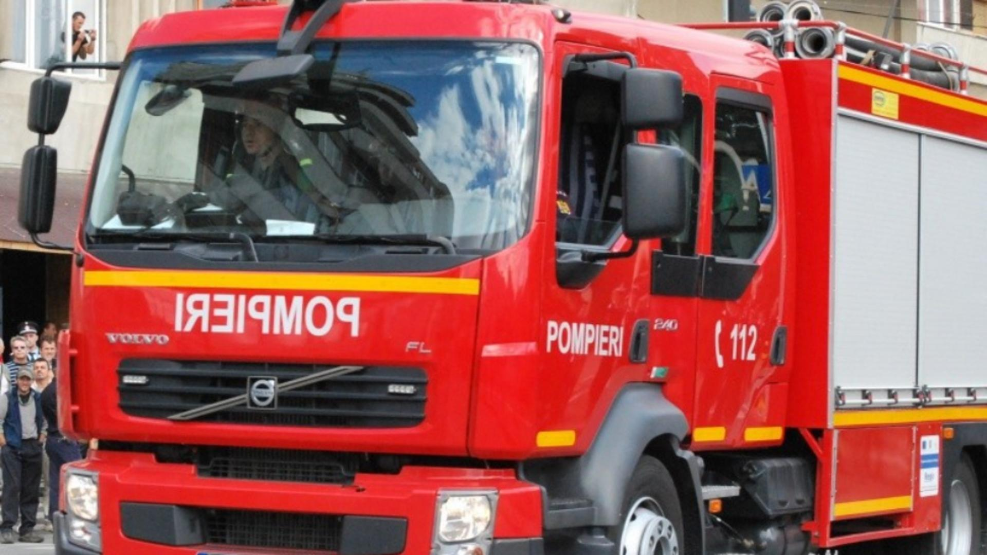 Incendiu Medias pus intentionat