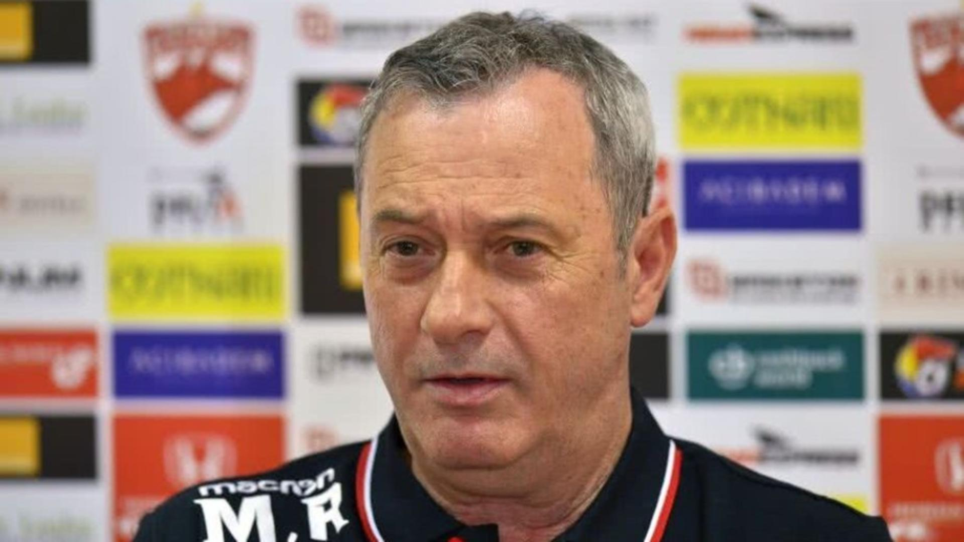 """Mircea Rednic, măsură drastică înaintea meciului Viitorul – Dinamo: """"E clar că suferim în atac"""""""