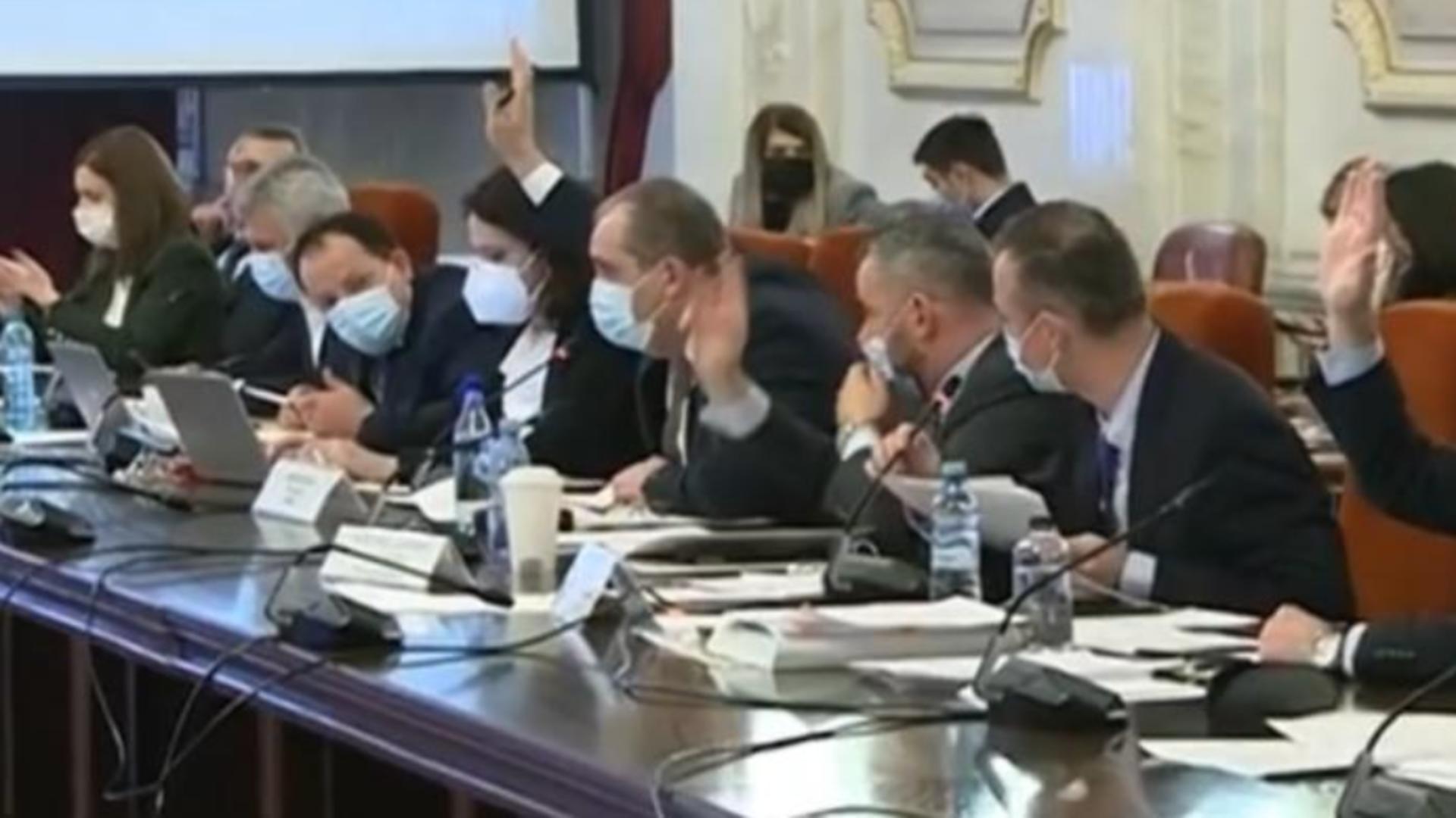 Dezbateri în comisiile reunite parlamentare pe Bugetul 2021