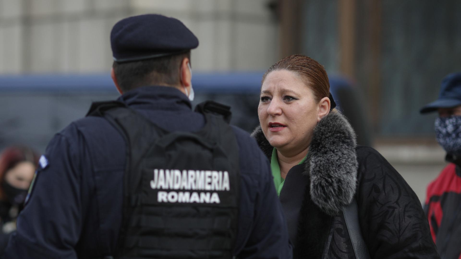 Diana Șoșoacă. Foto: Inquam / Octav Ganea