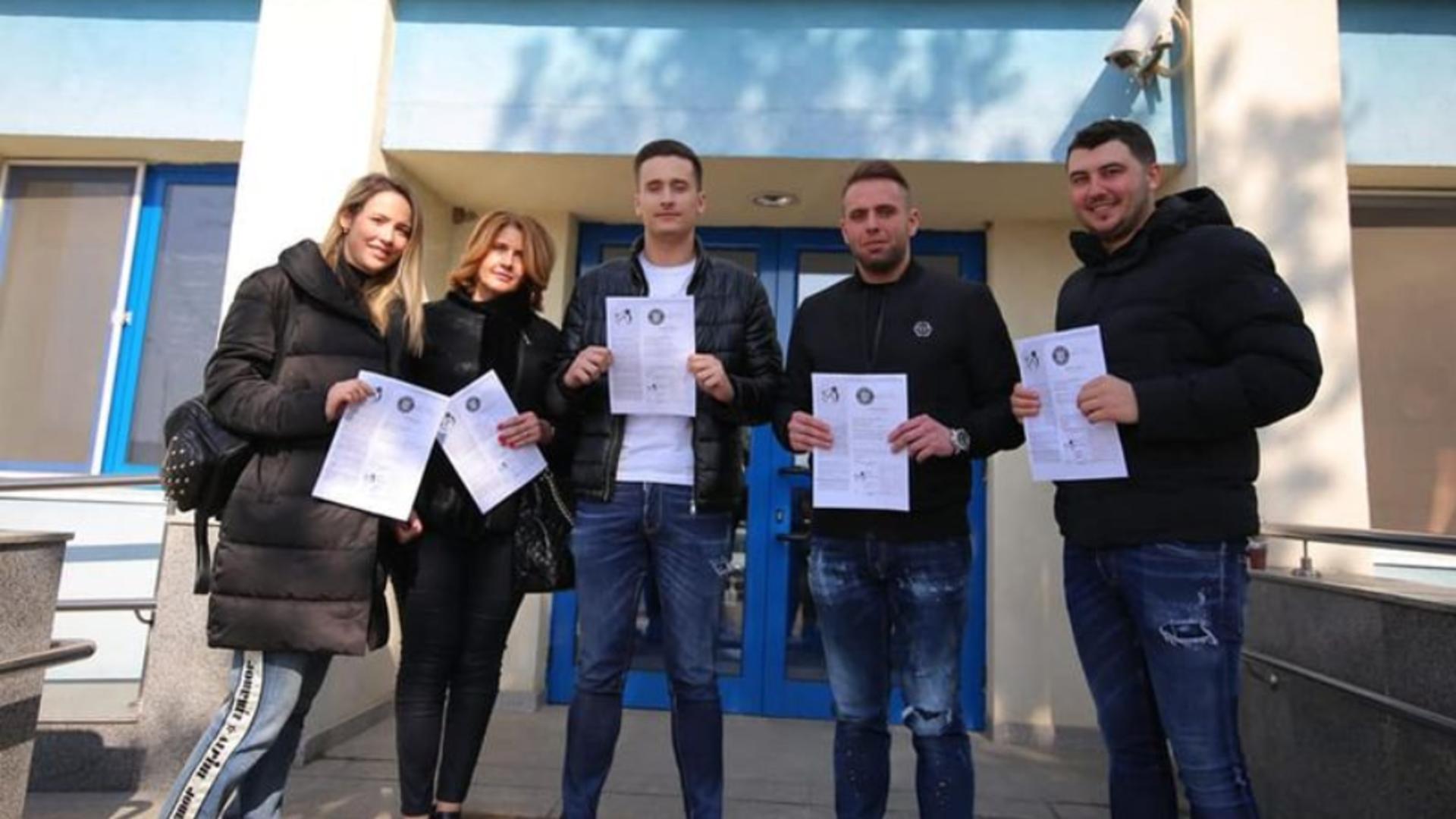 Familia vaccinată, peste rând, a lui Vasile Iliuță, președinte CJ Călărași Foto: Facebook.com