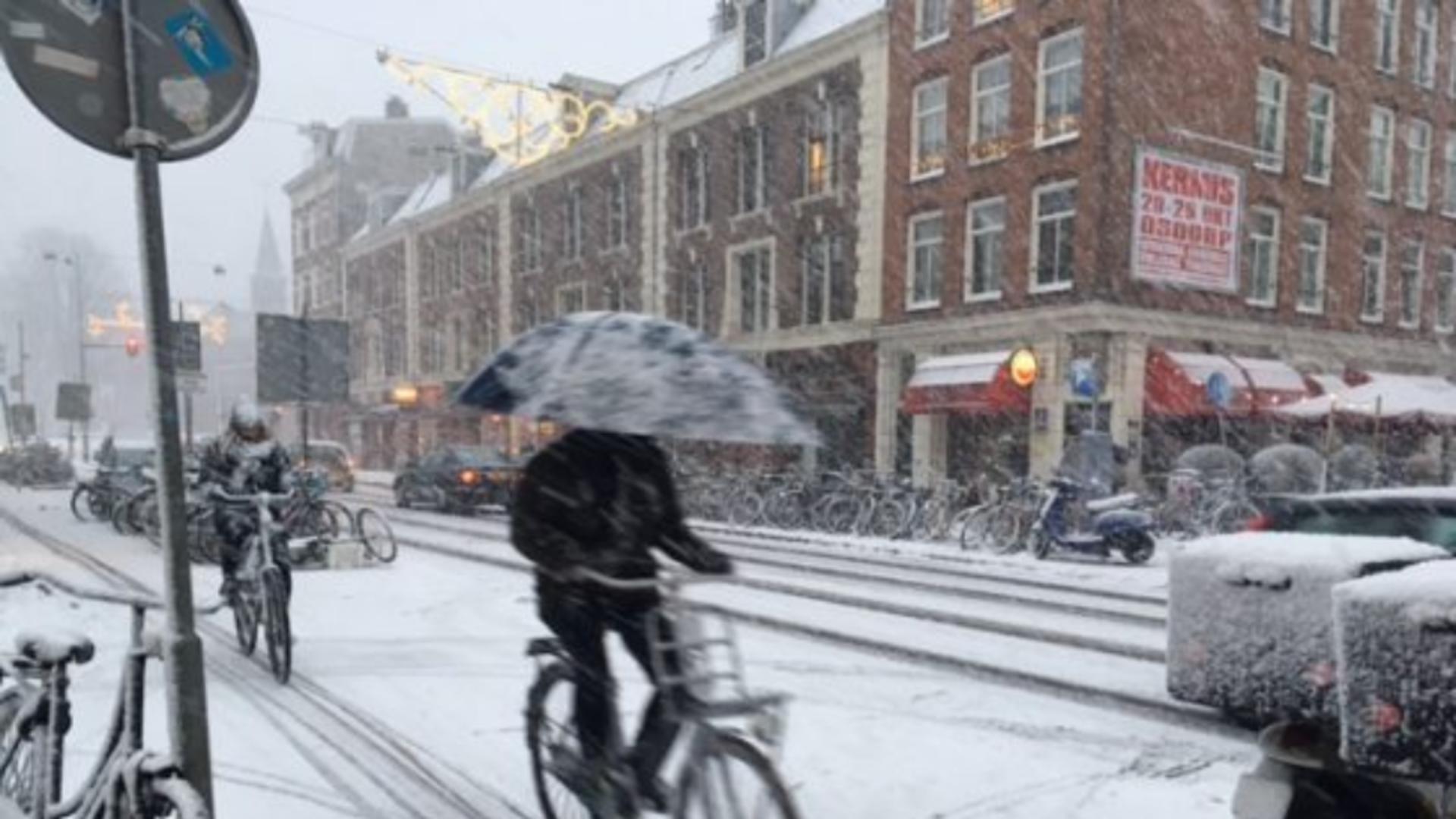 Olanda, cea mai severă iarnă din ultimul deceniu
