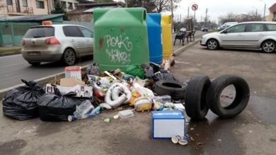 Romprest amenință cu încetarea ridicării gunoiului din sectorul 1