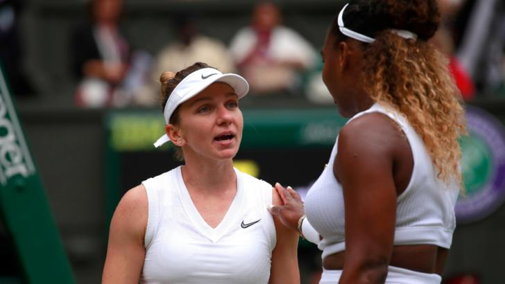 Simona Halep  vs Serena Williams/Profi Media Images - Paul Marr