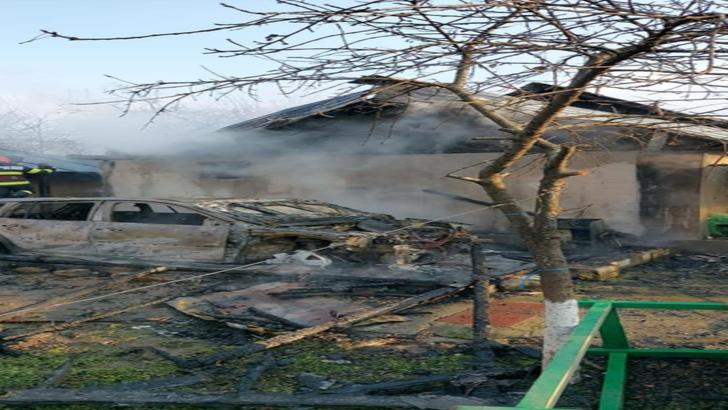 Incendiu casa Oltenita