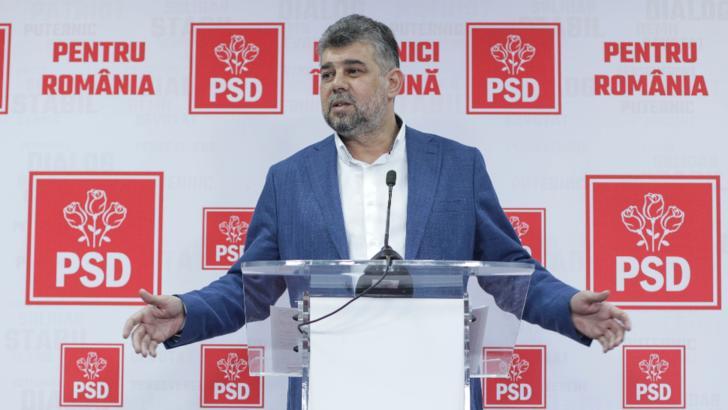 Marcel Ciolacu, președintele PSD Foto: Inquam Photos/Octav Ganea