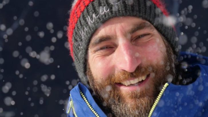 """Alpinistul italian Carlo Alberto """"Cala"""" Cimenti a murit pe 8 februarie 2021, înghițit de o avalanșă în Sestriere Foto: Twitter.com"""