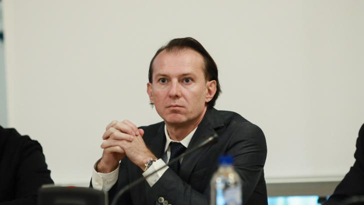 Premierul Floirin Cîțu / Foto: INQUAM - George Călin
