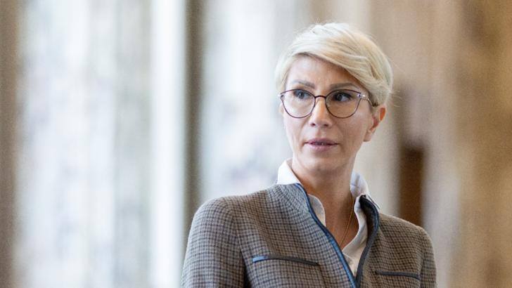 Raluca Turcan, ministrul Muncii Foto: Inquam Photos/Ilona Andrei