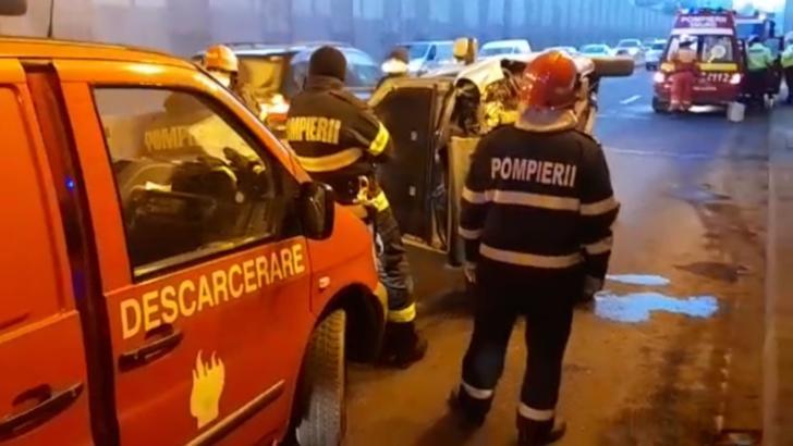 Accident Pasaj Băneasa