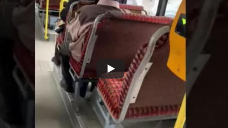 VIDEO - Imagini dezgustătoare dintr-un autobuz-focar de infecție - Ce spune firma care administrează mijloacele de transport în comun