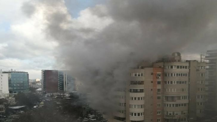 Incendiu la Constanța