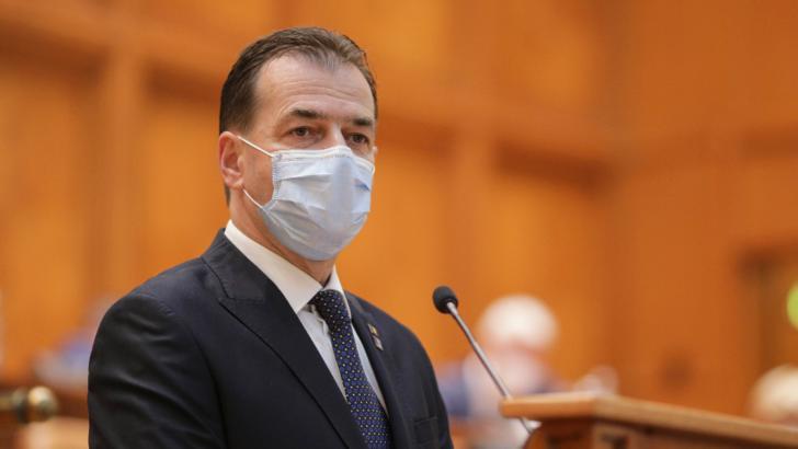 Ludovic Orban, președintele PNL, președintele Camerei Deputaților Foto: Inquam Photos / George Calin