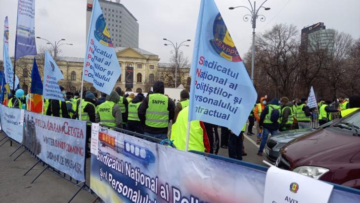 Proteste în Capitală