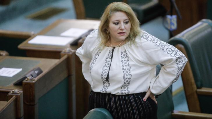 Diana Șoșoacă, senator independent (fost AUR) Foto: Inquam Photos/George Călin