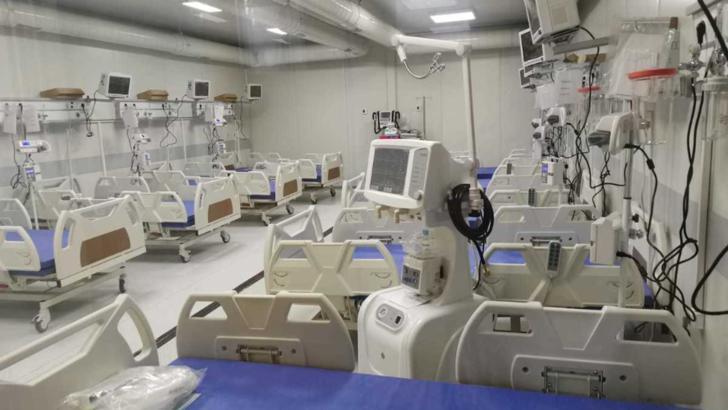 Spitalul modular din Lețcani, județul Iași