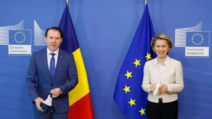 Florin Cîțu și Ursula von der Leyen