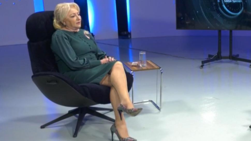 """VIDEO Viorica Dăncilă: """"Greșeala mea este că am acceptat în echipă oameni controversați"""""""
