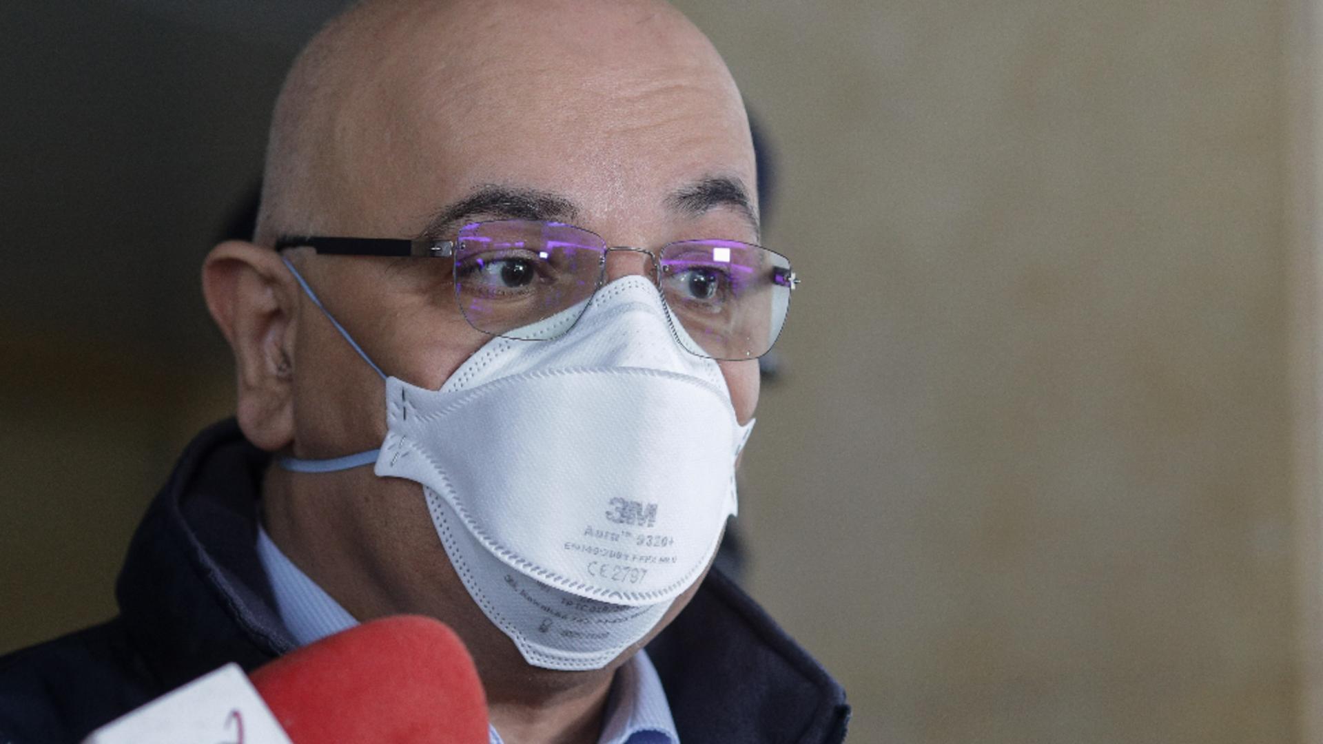 Şeful Departamentului pentru Situaţii de Urgenţă, Raed Arafat / Sursa foto: INQUAM