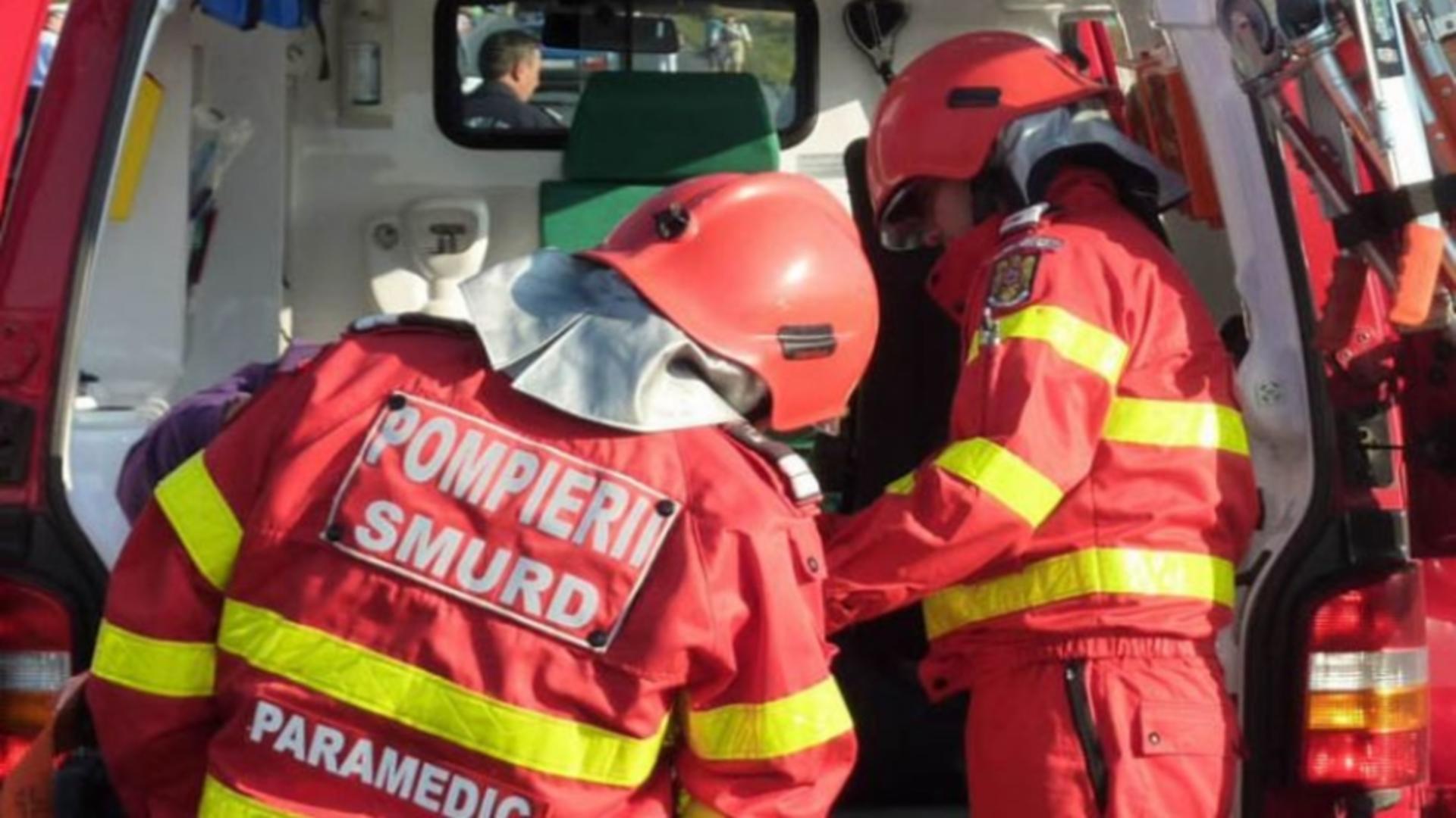 Intervenție de urgență în municipiul Cluj
