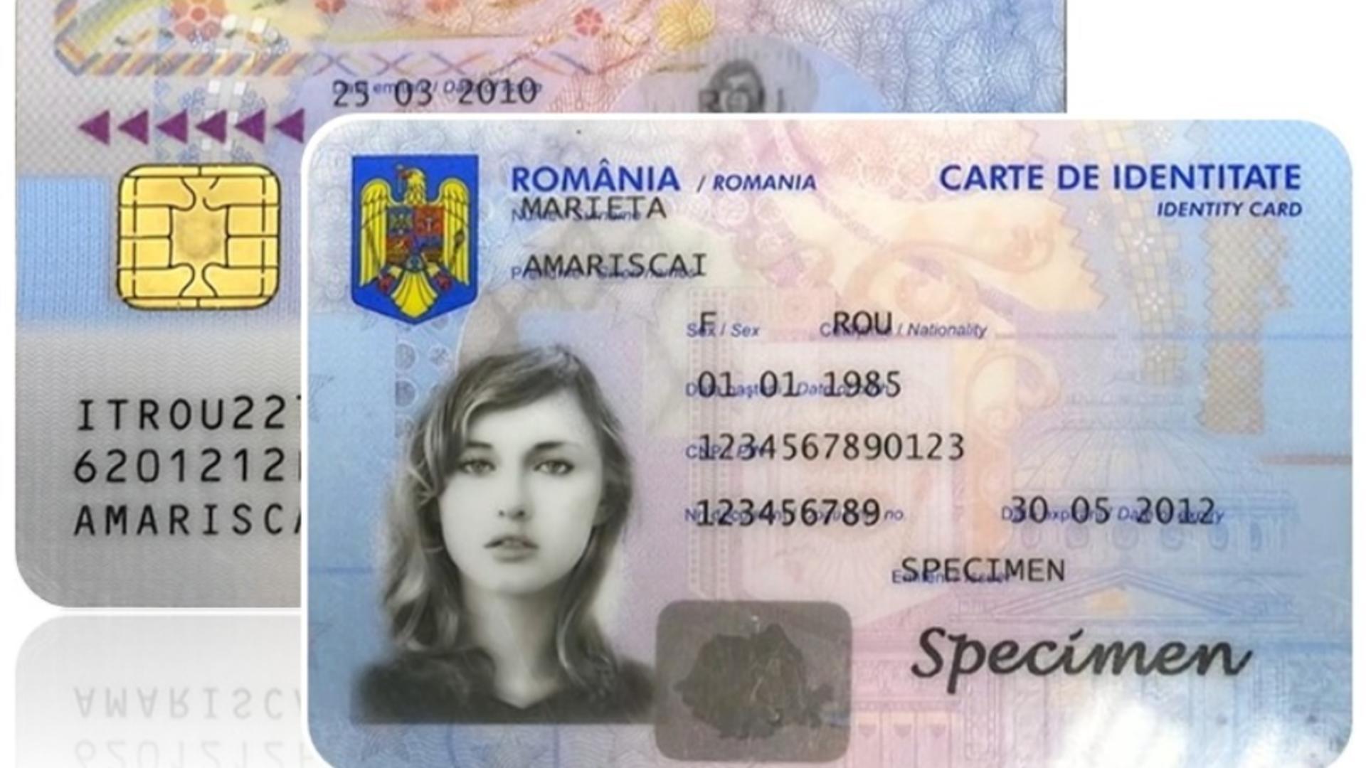 Carte de identitate electronică