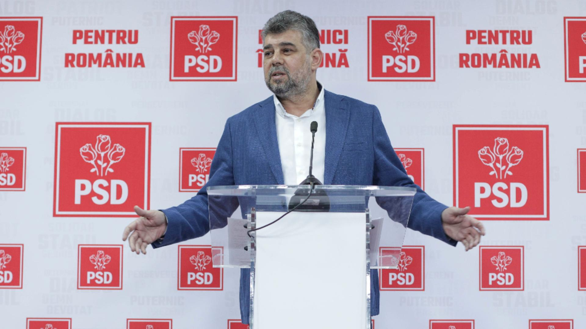 Marcel Ciolacu, președintele PSD Foto: InquamPhotos/Octav Ganea