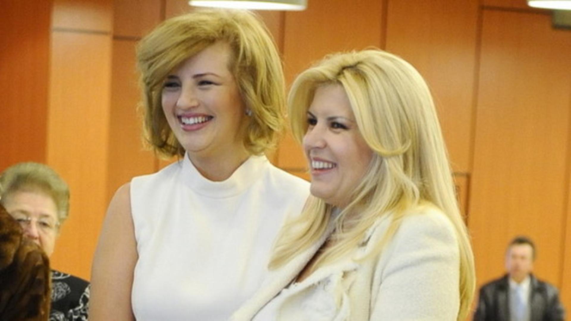 Ioana Băsescu și Elena Udrea (arhivă)