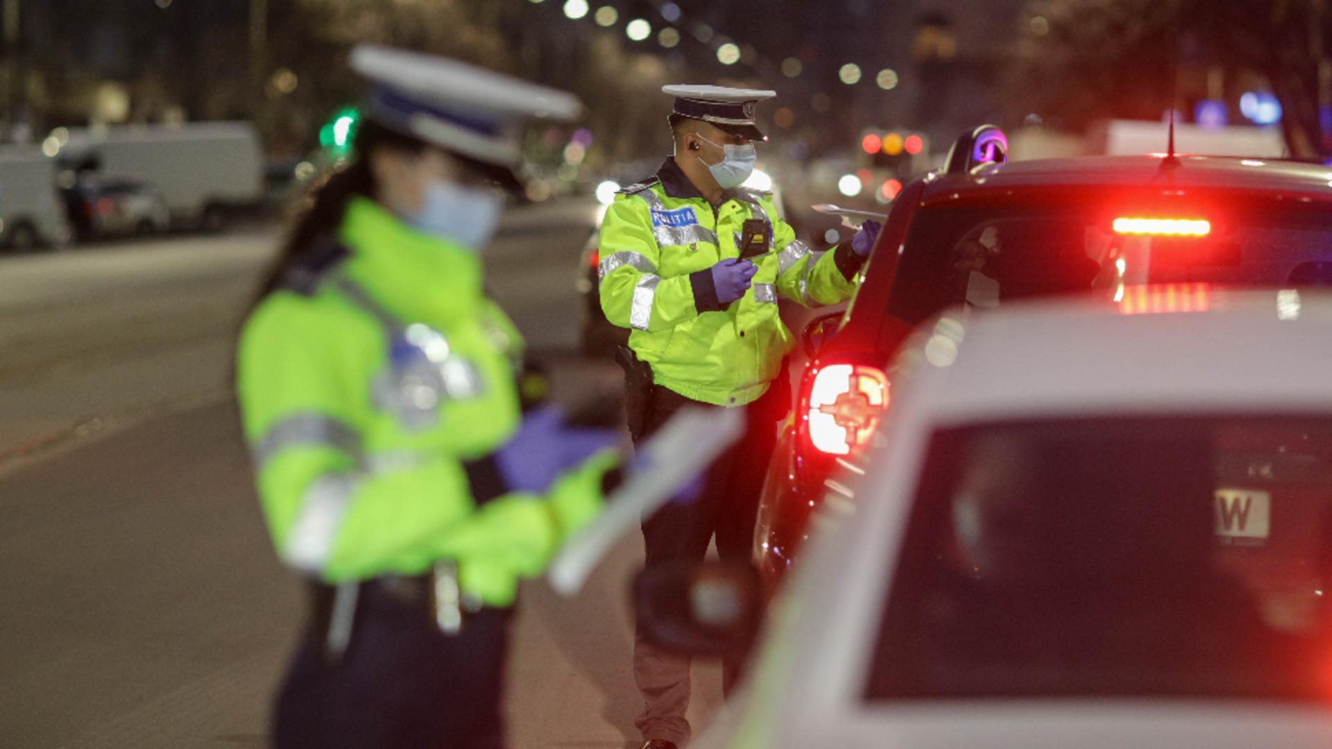 Controale politie - sursa foto: Octav Ganea/INQUAM