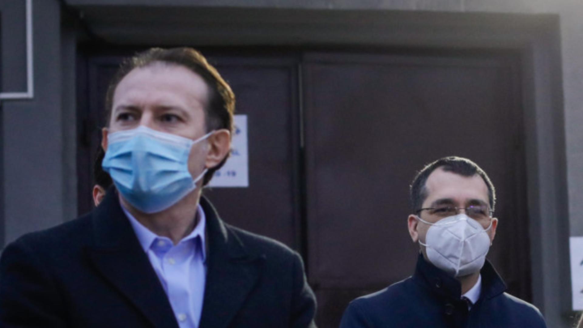 Florin Citu și Vlad Voiculescu, primul ministru USR Plus care a părăsit Guvernul