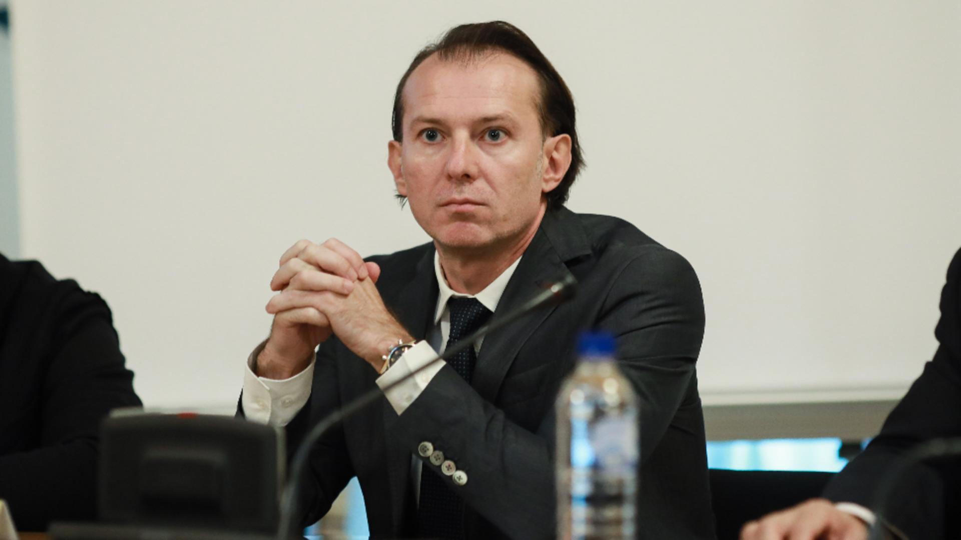 Premierul Florin Cîțu Foto: InquamPhotos/George Călin