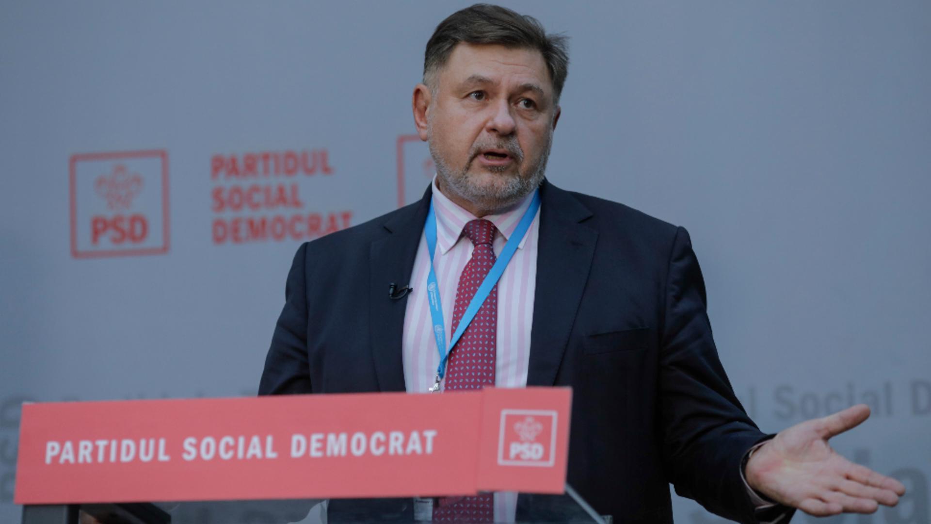 Alexandru Rafila, deputat PSD Foto: InquamPhotos/George Călin